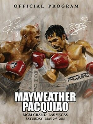 2015 FLOYD MAYWEATHER JR. vs MANNY PACQUIAO WORLD TITLE PROGRAMME