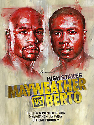 2015 FLOYD MAYWEATHER JR. vs ANDRE BERTO WORLD TITLE PROGRAMME