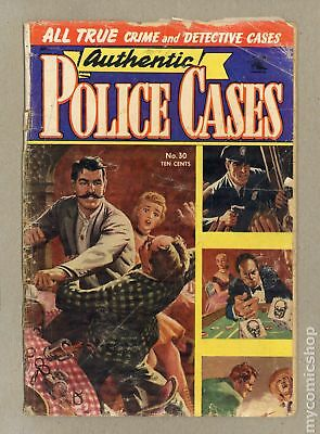 Authentic Police Cases (1948) #30 GD- 1.8