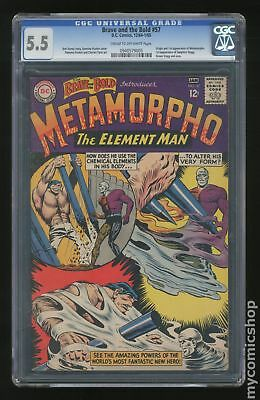 Brave and the Bold (1955 1st Series DC) #57 CGC 5.5 0940579005