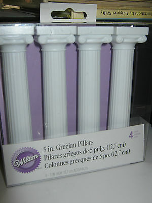 "Wilton 5"" Grecian Pillars Set Of 4"