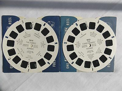View Master  Reels  2075 + 2076  The Fjords  Norway  1955