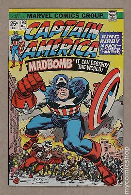 Captain America (1968 1st Series) #193 VF+ 8.5