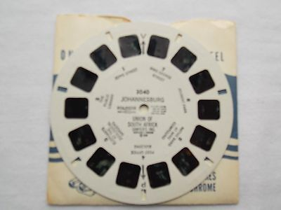 View Master  Reel 3040  Johannesburg  Africa  1948  Rare   Excellent