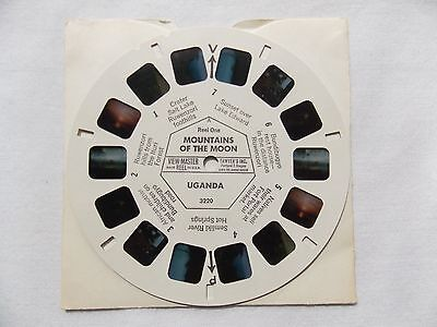 View Master  Reel 3220  Mountains of the Moon  Uganda  1950s Rare  Excellent