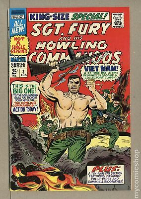 Sgt. Fury (1963) Annual #3 VF/NM 9.0