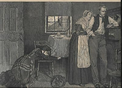 Prints- 3 Plus Older Woodblocks, Etc, By Famous Howard Pyle