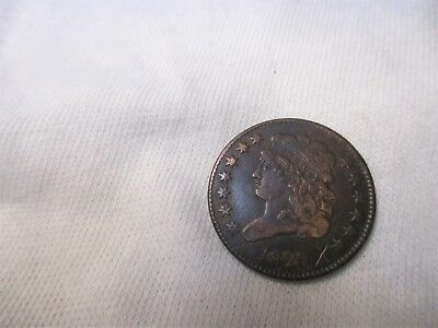 *(1) Coin*(1) 1826 Half Cent **classic Head**d29**nice Old Coin**13 Stars**
