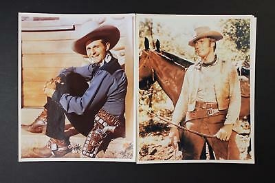 LOT # 3: 48 CONTEMPORARY PHOTOGRAPHS~1930s-1950s WESTERN MOVIE STARS~LOBBY CARDS