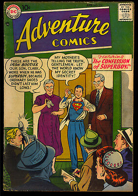 Adventure Comics #235 Nice Early Silver Age Superboy DC Comic 1957 VG
