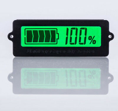 12V Lead-Acid Battery LY6N Recessed Battery Capacity Indicator Tester Voltmeter