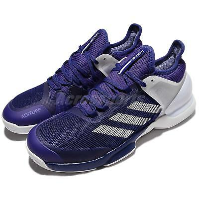 adidas Adizero Ubersonic 2 II Blue Purple White Men Tennis Shoes Sneakers CG3084