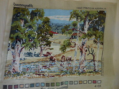Tapestry Completed Baxtegrafik The Dam Pastoral Australia 4-05
