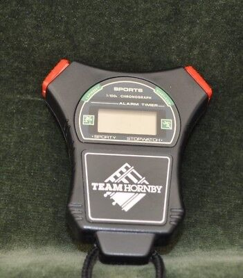 Scalextric Hornby stop watch. TEAM HORNBY..Used. Needs new battery