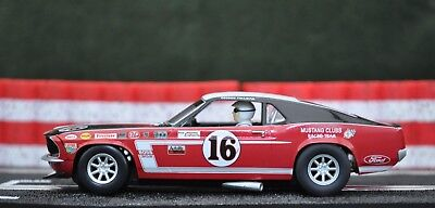 SCALEXTRIC 1/32nd Slot car C2402 FORD MUSTANG 1969 #16  Unused NO BOX