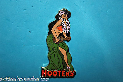 Hooters Restaurant Collectable Hawaii Hawaiian Aloha Girl Lapel Pin