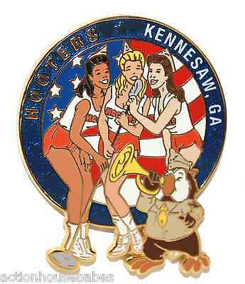 Hooters Girls Singing Boogie Woogie Dance Patriot Kennesaw Ga Georgia  Pin