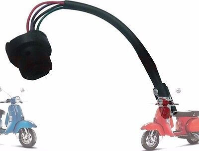 Vespa 4 Wires Ignition Switch Holder Px Lml Star Stella Scooters @aus