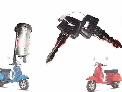 Vespa Px Lml Star Stella  Single Barrel Lock / Steering Wheel Lock @aus