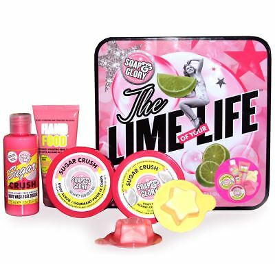 Soap And Glory The Lime of your Life Sugar Crush Christmas Gift Set