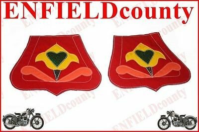 Vespa Scooter Multicolor Pair Front Rear Mudguard Mud Flap Set Floral Retro @aus