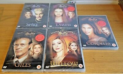 Buffy The Vampire Slayer Dvd Collection 5 Dvds Cordellia Dawn Spike Willow Giles