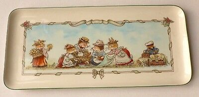 Villeroy and Boch Pottery Foxwood Tales RARE long dish