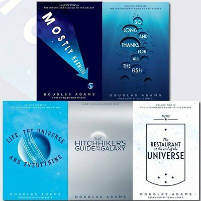 The Hitchhiker's Guide to the Galaxy Collection - 5 Books by