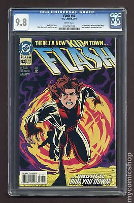 Flash (1987 2nd Series) #92A CGC 9.8 0242247017