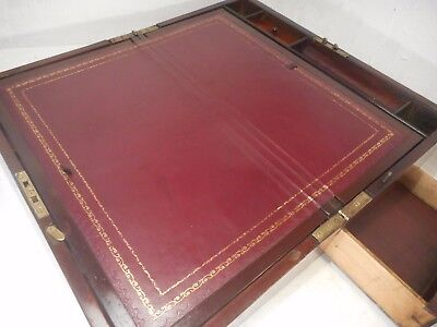 Antique Mahogany Writing Slope Box    ref 3961