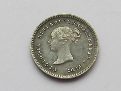 Queen Victoria silver Maundy Twopence dated 1881 - Very good collectable coin