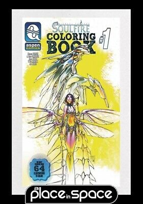 Soulfire Coloring Book Special - Softcover