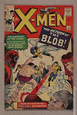 Uncanny X-Men (1963 1st Series) #7 GD+ 2.5