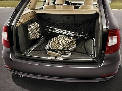Skoda Superb Estate Verical Boot / Luggage Nets - Side and Rear  (3T9017700A)