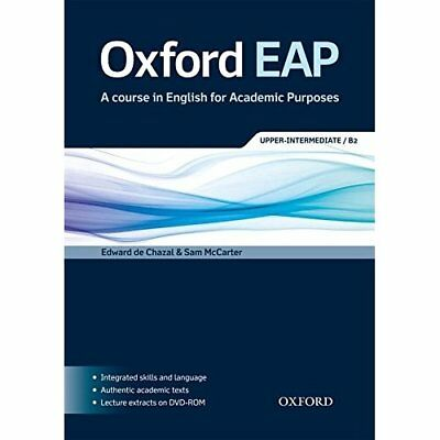 Oxford EAP: Upper-Intermediate/B2: Student's Book and D - Paperback NEW Edward d
