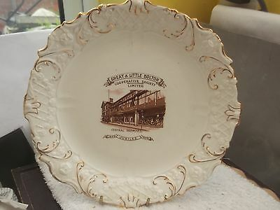 1909 Jubilee Plate For Great And Little Bolton Cooperative Society