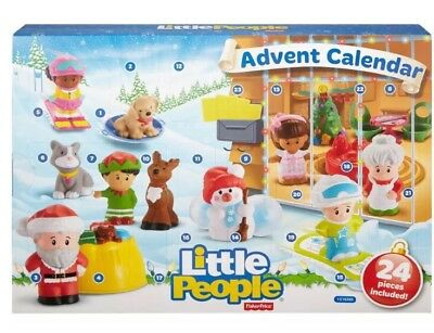 Fisher Price Little People Advent Calendar Brand New In Box