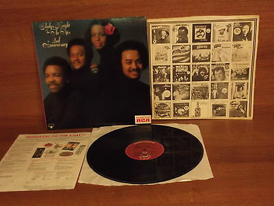 Gladys Knight & The Pips : 2nd Anniversary : Vinyl Album + POSTER : BOS 5639: