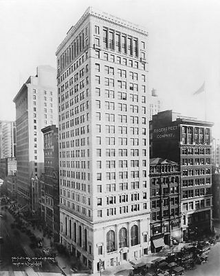 Astor Trust Company Building New York 1917 11x14 Silver Halide Photo Print