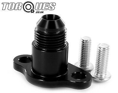 Torques Subaru Impreza WRX/STI 1994-2001 Black AN-8 Power Steering Pump Adapter