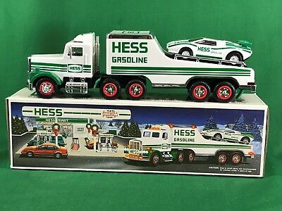 1991 Hess Truck & Lamborghini with Box Tested Working LV4 #17