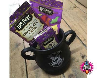 Harry Potter Cauldron Mug With Bertie Botts Jelly Slugs Chocolate Frog Sweets