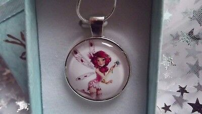 Mia And Me   Strong Chain Necklace  Fairy Princess  Gift Boxed,birthday Party