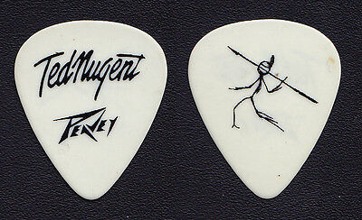 Ted Nugent Craveman White Guitar Pick - 2003 Tour