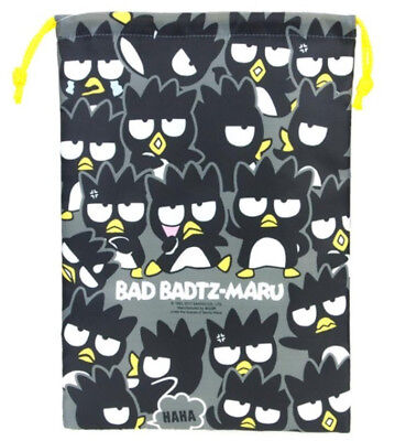 2017 Sanrio Bad Badtz Maru XO quilted Drawstring Pouch bag