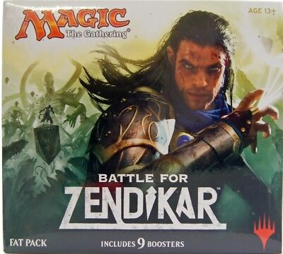 Battle for Zendikar Fat Pack - englisch - Magic the Gathering TCG MTG FATPACK