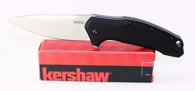 Kershaw Link Knife Black Aluminum Handle  M390 Steel Blade 1776BLK Made in USA