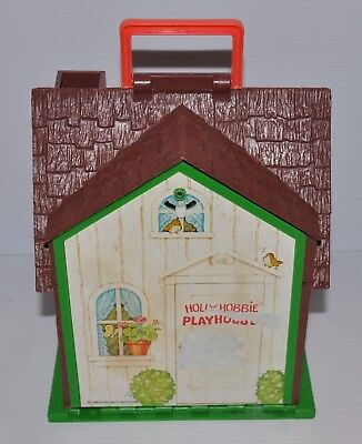 HOLLY HOBBIE Playhouse vintage Doll House TOY 1976 American Greetings -rj