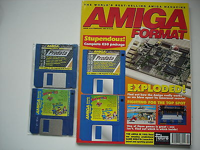 AMIGA FORMAT - February - 1993 -  WITH COVER DISCS