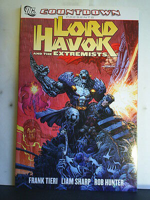 Graphic Novel: Lord Havok And The Extremists   Paperback